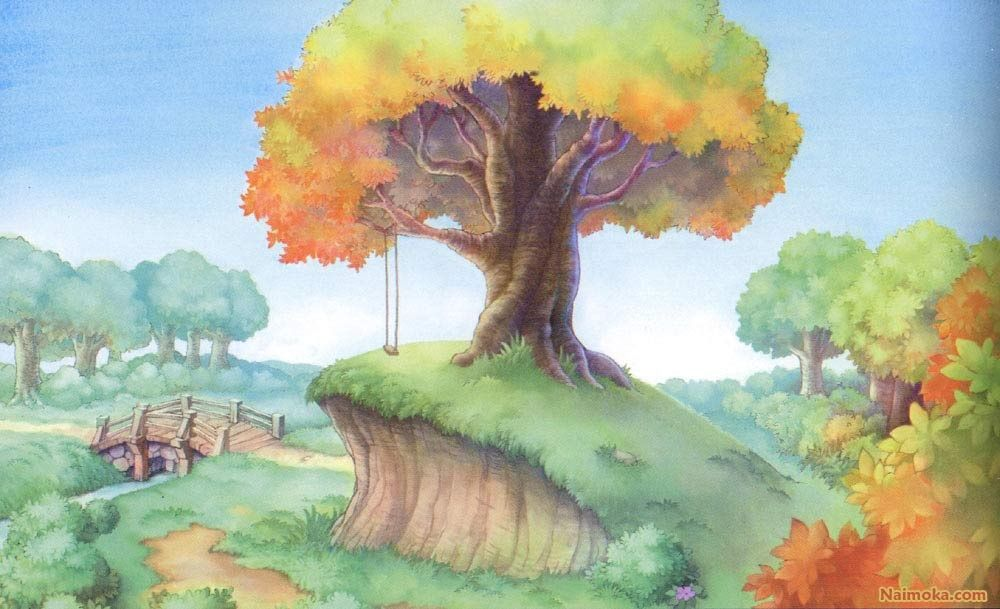Winnie The Pooh Forest Background: Image Result For Hundred Acre Wood Background