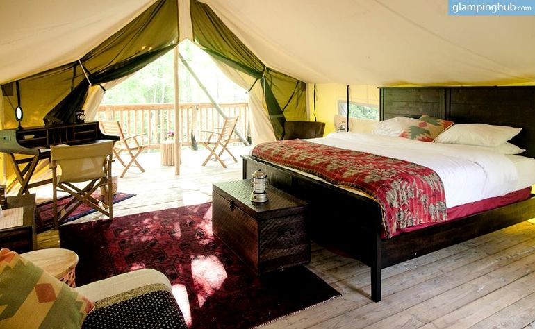 Luxury Safari Tents in Enchanting