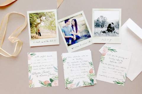 The Polaroid Invitation