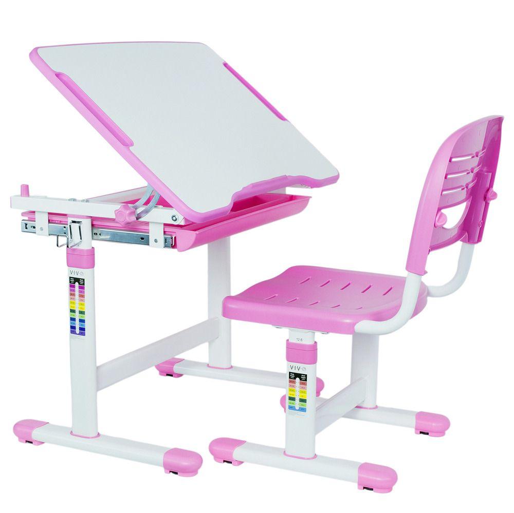 Ebay Sponsored Vivo Height Adjustable Childrens Desk Chair Set