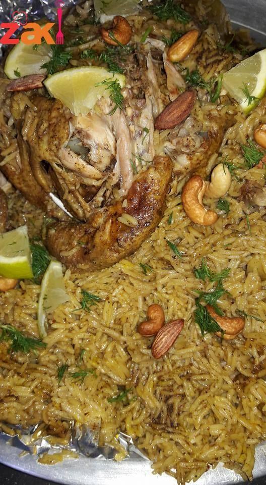 مندي دجاج بطنجرة الضغط زاكي Food Dishes Egyptian Food Moroccan Food