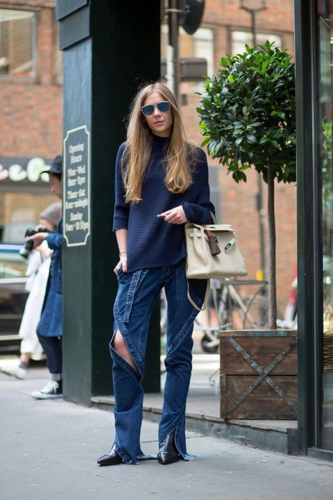 Best London Fashion Week Street Style Spring 2016 - London Street Style