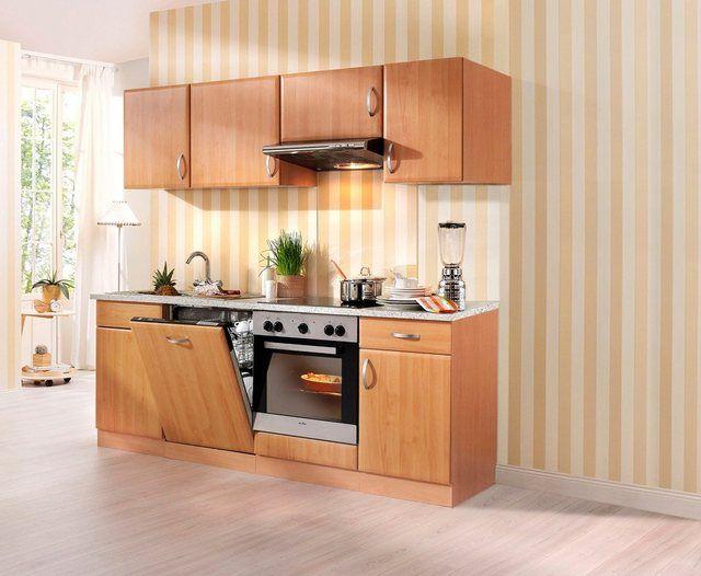 WIHO KÜCHEN Küchenzeile mit EGeräten »Prag«, Breite 220