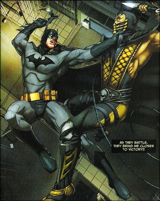 Batman vs.Scorpion