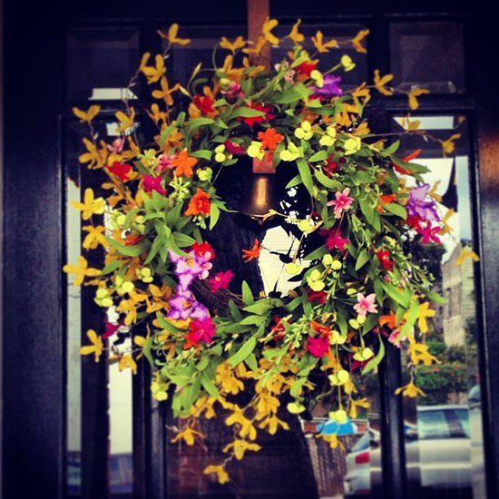Show Us Your (Instagram) Stuff! Floral wreath, Wreaths and Front