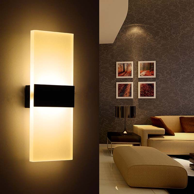 6W Led Wall Lamp Bedroom Bedside Living Room Hallway Stairwell Amazing Lamp Bedroom 2018