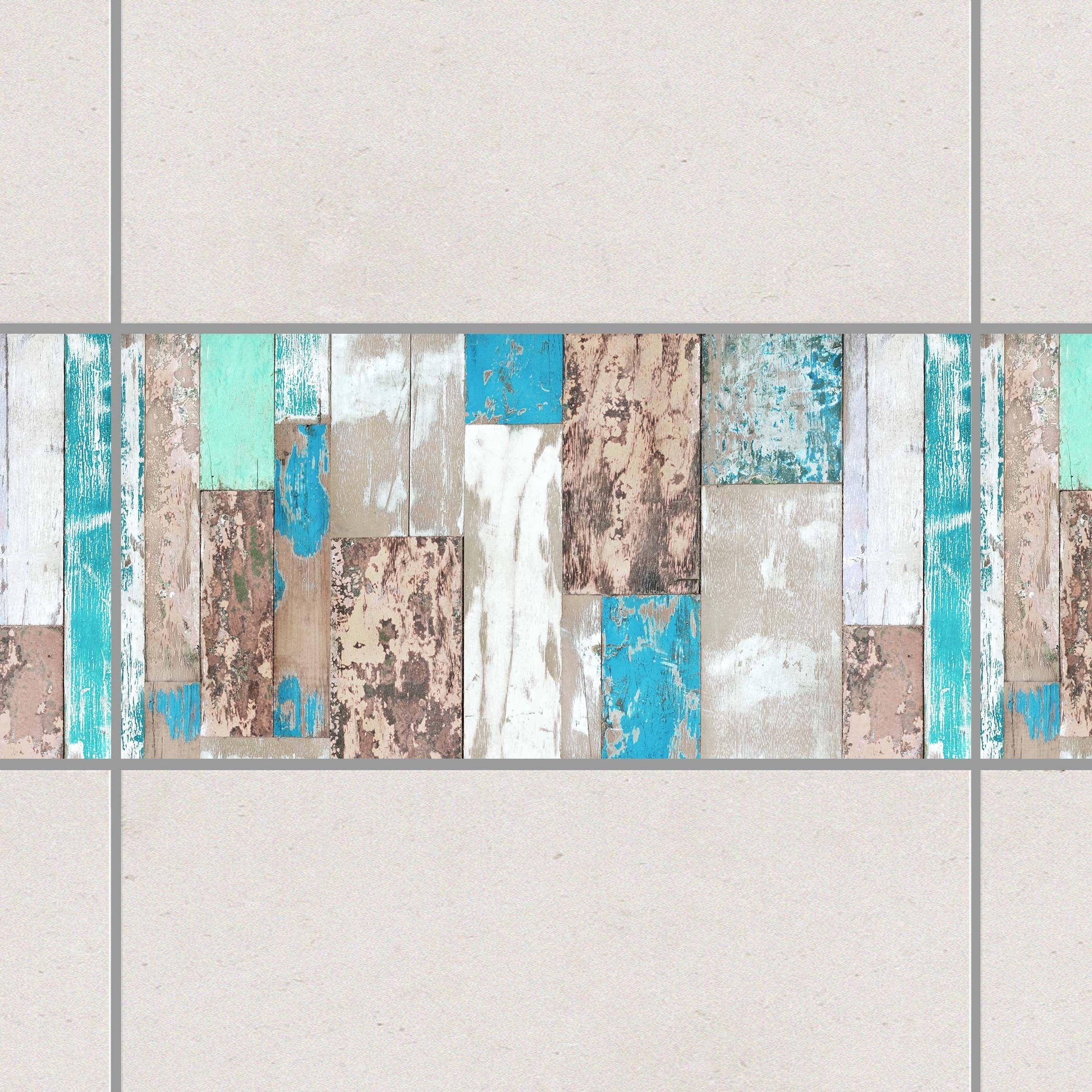 Fliesenaufkleber Maritime Planks 25x20 Cm Fliesensticker Set Fliesenaufkleber Fliesen Aufkleber