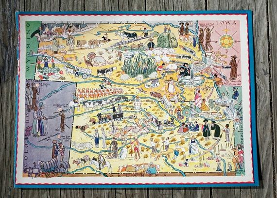 This original print includes a Kansas map and a Neska map, and ... on nebraska map, herington kansas map, kansas road map, kansas us map, tennessee state map, kansas counties map, colorado map, kansas lakes map, usa map, oklahoma map, printable kansas map, missouri map, kansas elevation map, colby kansas map, arkansas map, kansas small town map, kansas map with all cities, the state map, united states map, kansas interstate map,