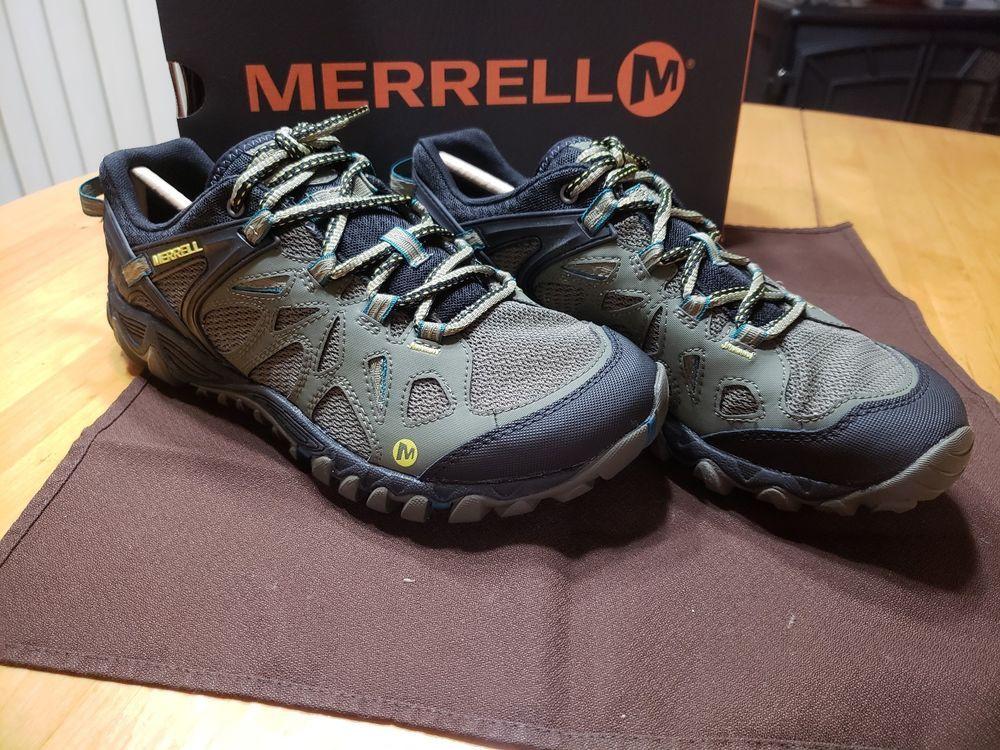 NIB Merrell All Out Blaze Aero Sport Dusty Olive Men