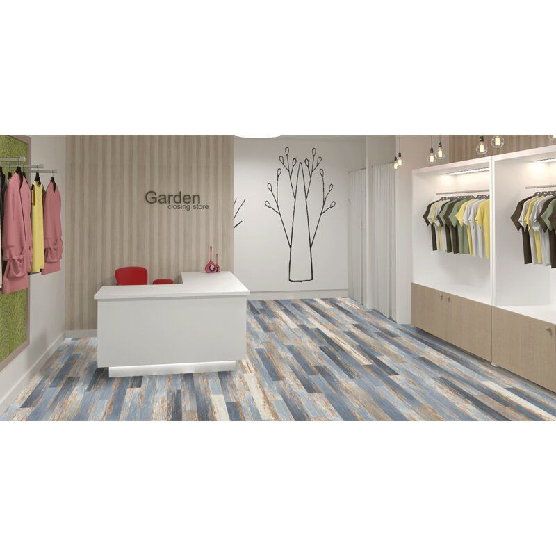 """Colors Floor and Wall DIY MultiTonal Style 6"""" x 36"""" x 2mm"""
