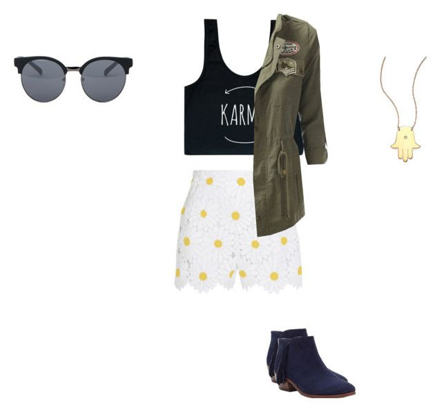 """Feelin good"" by lilmymy4 on Polyvore featuring Dolce&Gabbana, Quay, Sam Edelman and Jennifer Zeuner"