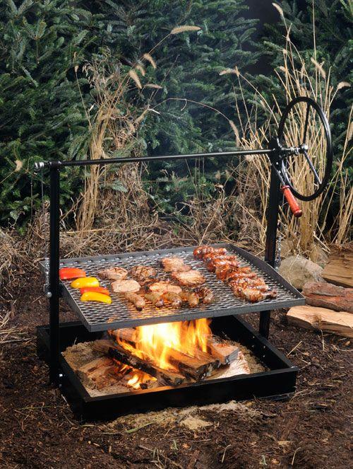Engelbrecht Grills   Original Braten Campfire Grill