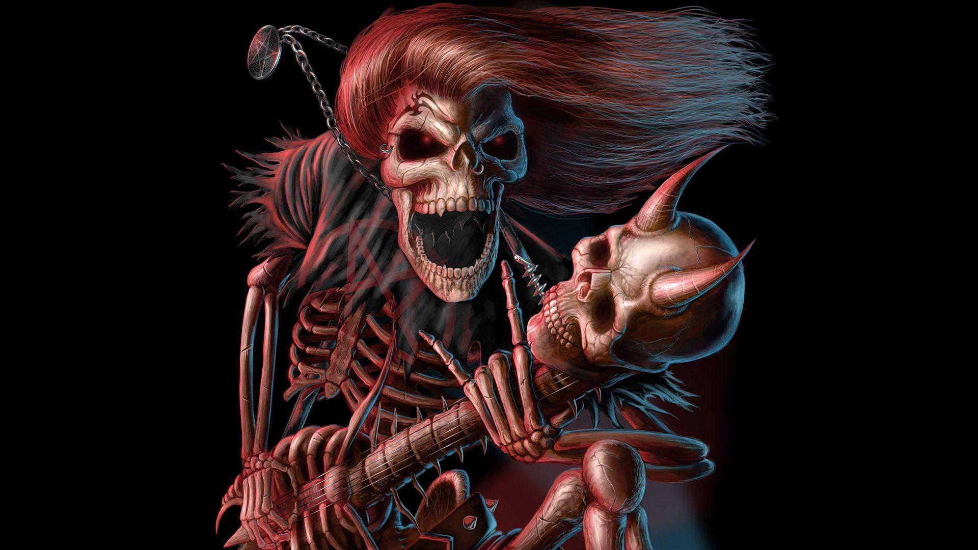 Heavy Metal Magazine Girls