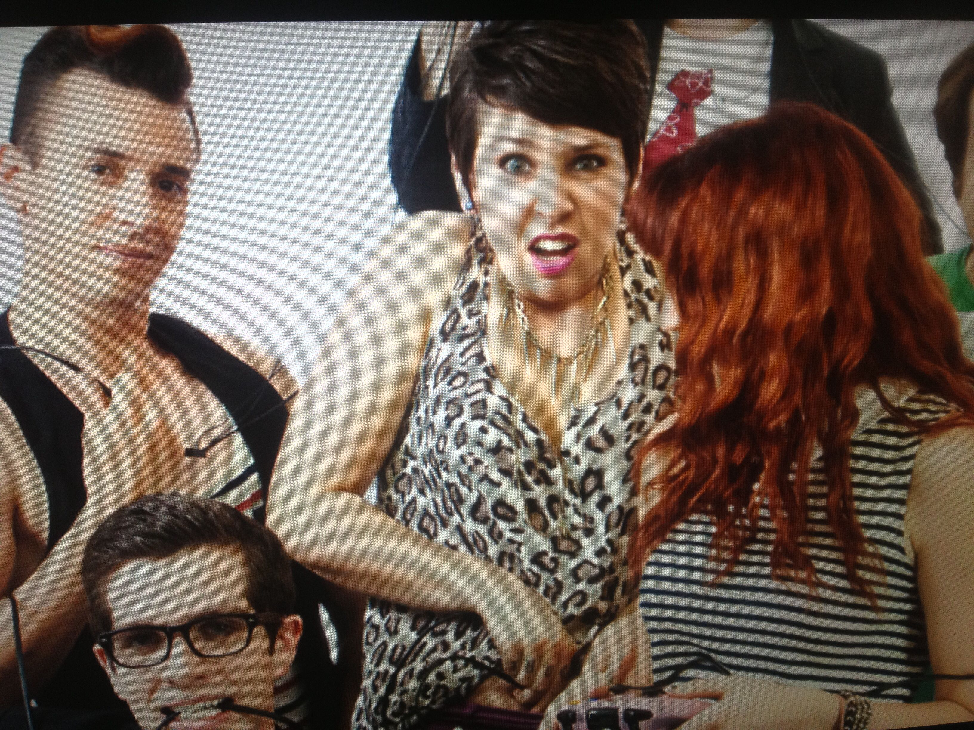 GamerGirl: The Webseries Omg it's a picture from the photo shoot!!!!