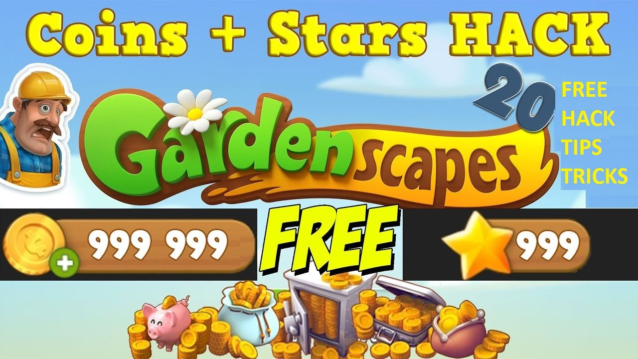 Gardenscapes Hack Coins Stars How To Get It Tool Hacks Gardenscapes Gardenscapes Game