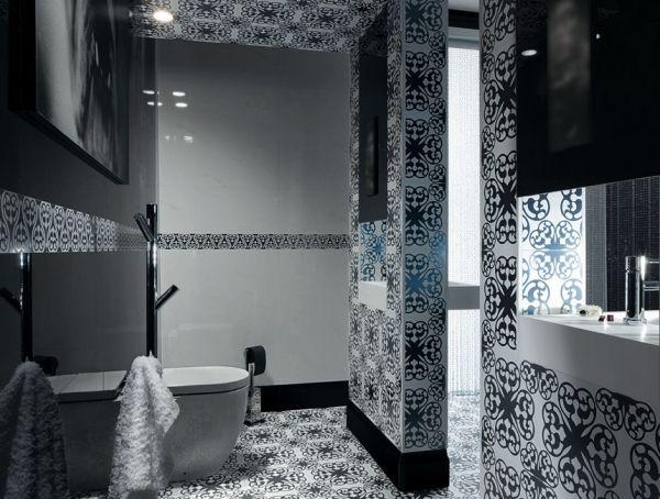 Mosaik Fliesen Fürs Badezimmer U2013 65 Ideen Für Die Muster Und Verlegearten # Badezimmer #fliesen