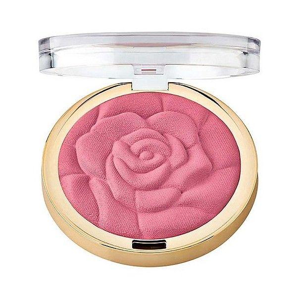 Milani Rose Powder Blush ($7.99) ❤ liked on Polyvore featuring beauty products, makeup, cheek makeup, blush, tea rose, powder blush and milani blush