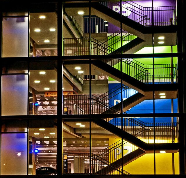 Parking Garage ~ Musicman67 @ Flickr