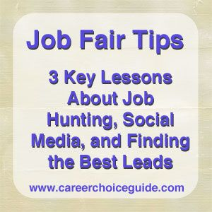 Three Key Job Fair Tips And Lessons Learned From An Extremely Competitive Job  Fair.