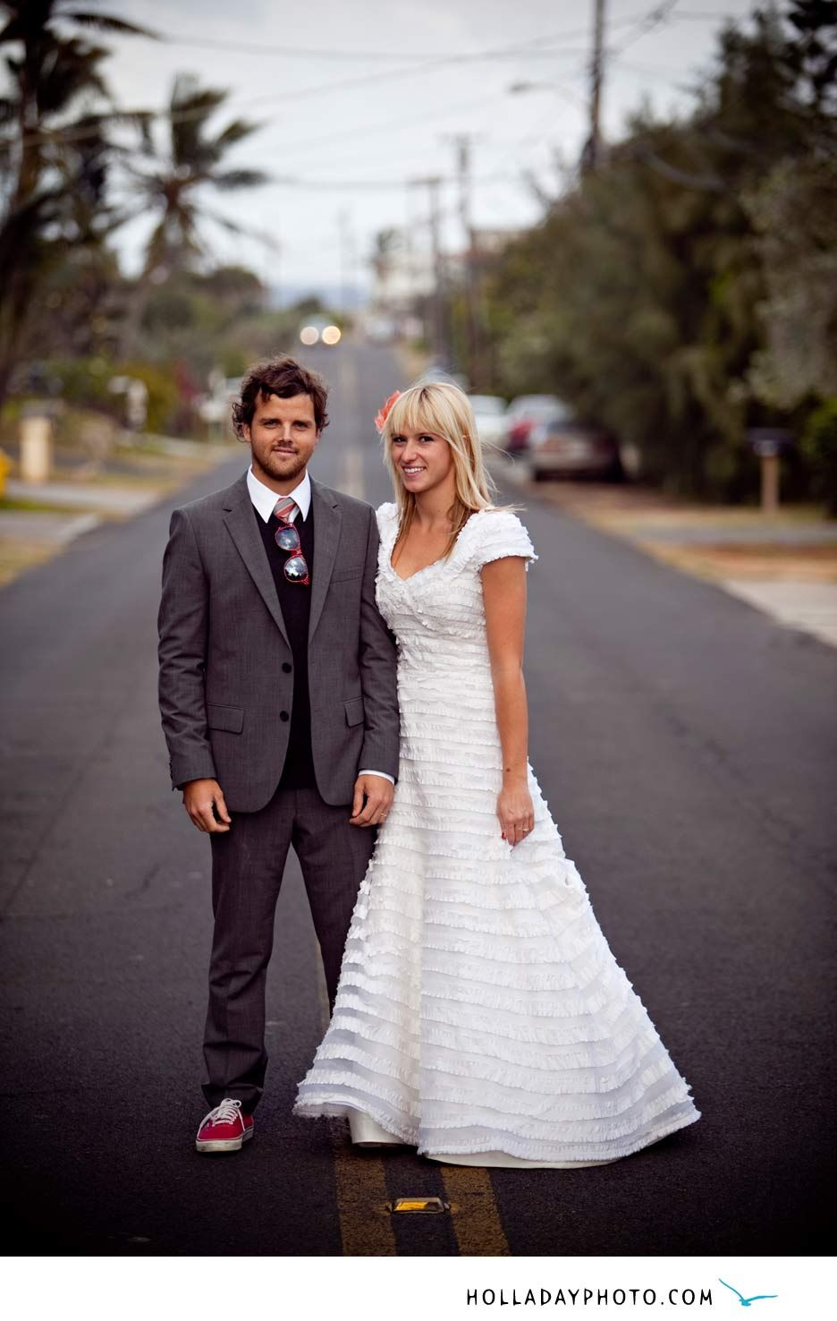I know the perfect street to take this photo wedding wishes