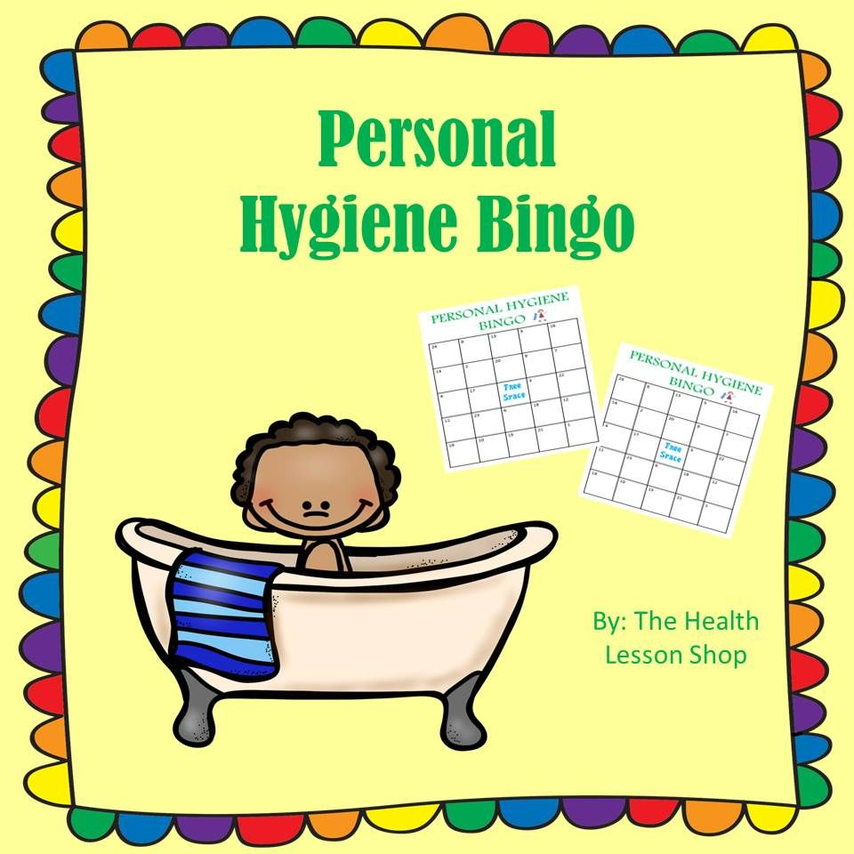 Personal hygiene booklet personal hygiene hygiene lessons and personal hygiene bingo is a great game to help your students review personal hygiene every robcynllc Gallery