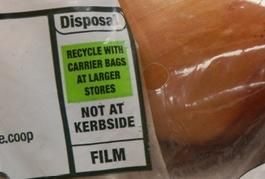 Learn what the recycling labels on your packaging means at www.recyclenow.com