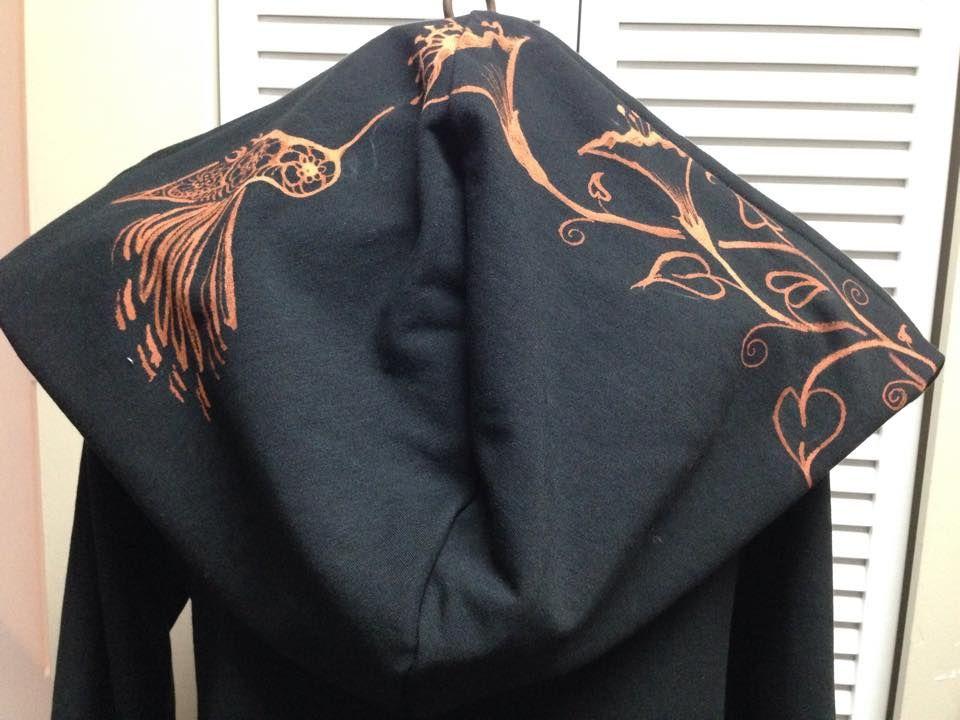 bleach art on Faye Tality jacket...