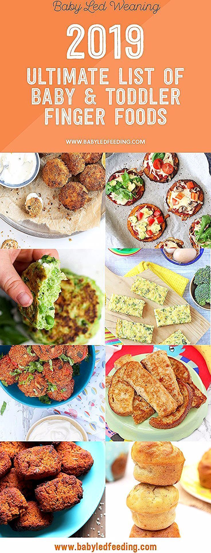 2019s ultimate list of baby and toddler finger foods in