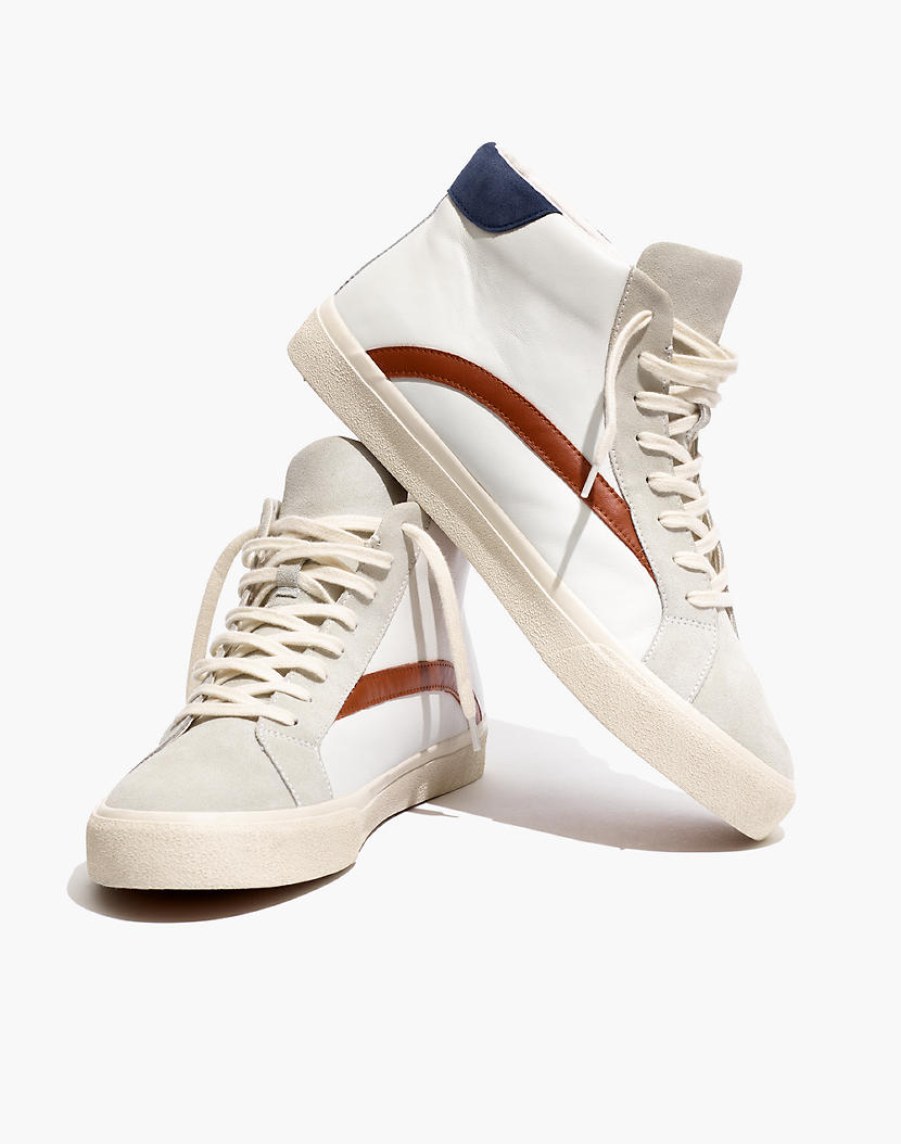 Sneakers, Leather sneakers