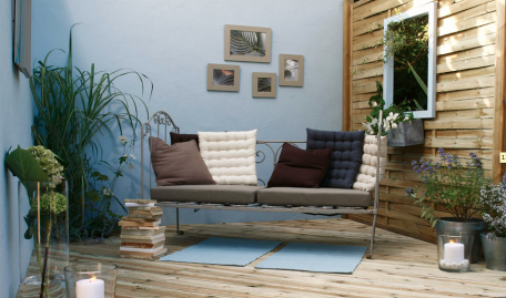 Idee deco terrasse zen for Proteger sa terrasse des regards