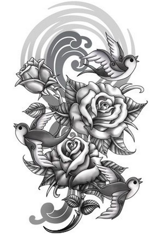 Flower Tattoo Designs Download Arm Sleeve Tattoos Designs Cool