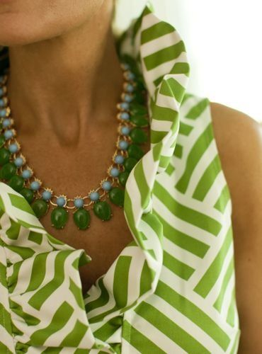 ruffles and green