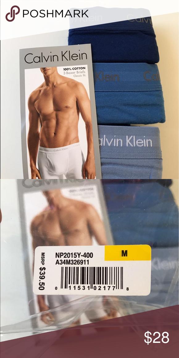 f6896b0529 Calvin Klein Men underwear Medium Brand new boxer briefs