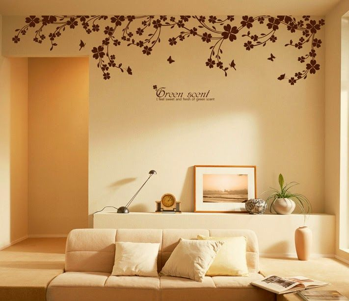 Decorative Stickers - The Alternative for Painting Walls ~ Home ...