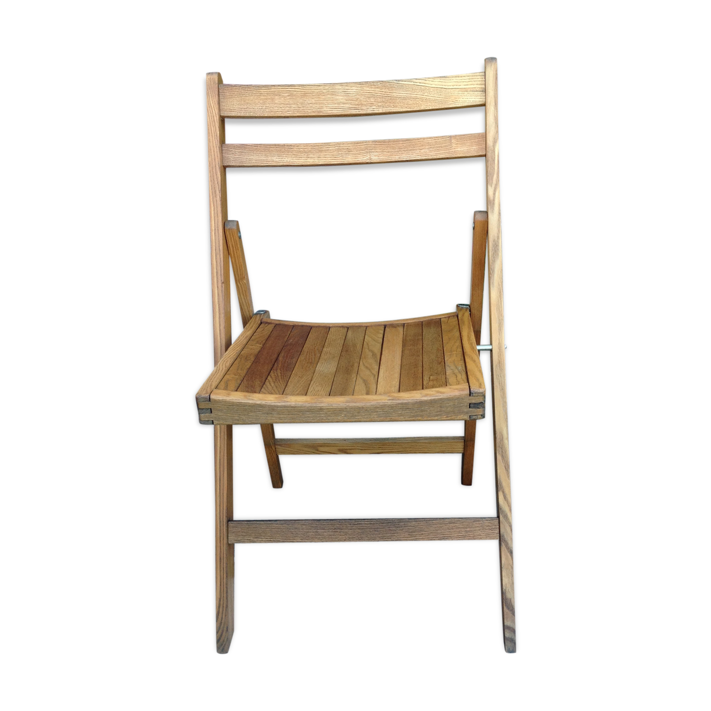 Chaise Pliante En Bois Vintage Annees 60 Outdoor Chairs Chair Chaise