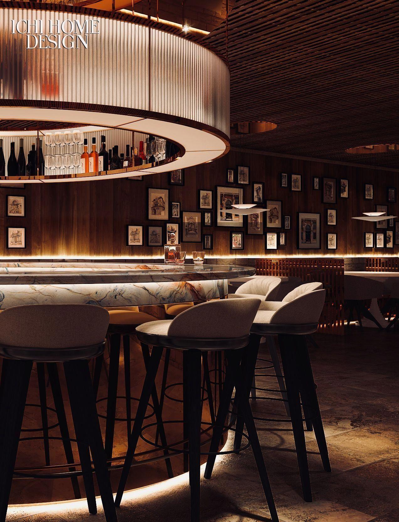 Interior Decor Inspiration For Your Restaurant Bar Find More At