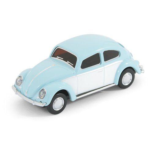 Classic Vw Beetle Car Usb Memory Stick 8gb Sky Blue Want