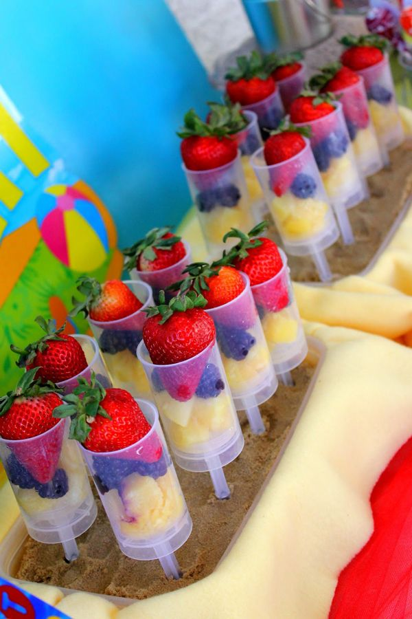 beach theme food recipes beach ball birthday bash via kara s party