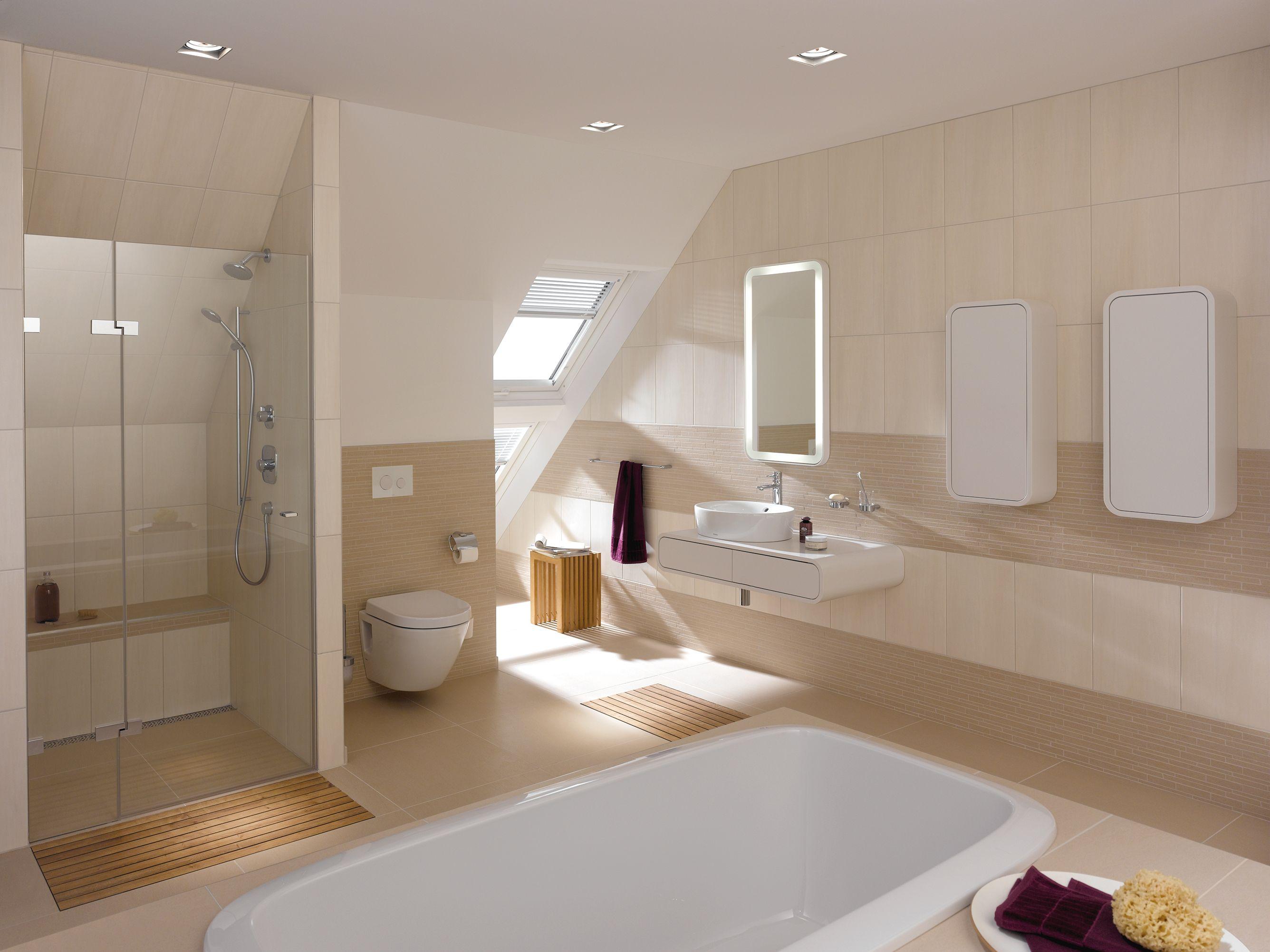 Aco Showerdrain Lightline Blue Badezimmer Dachschrage Badezimmer Badezimmer Mit Dusche