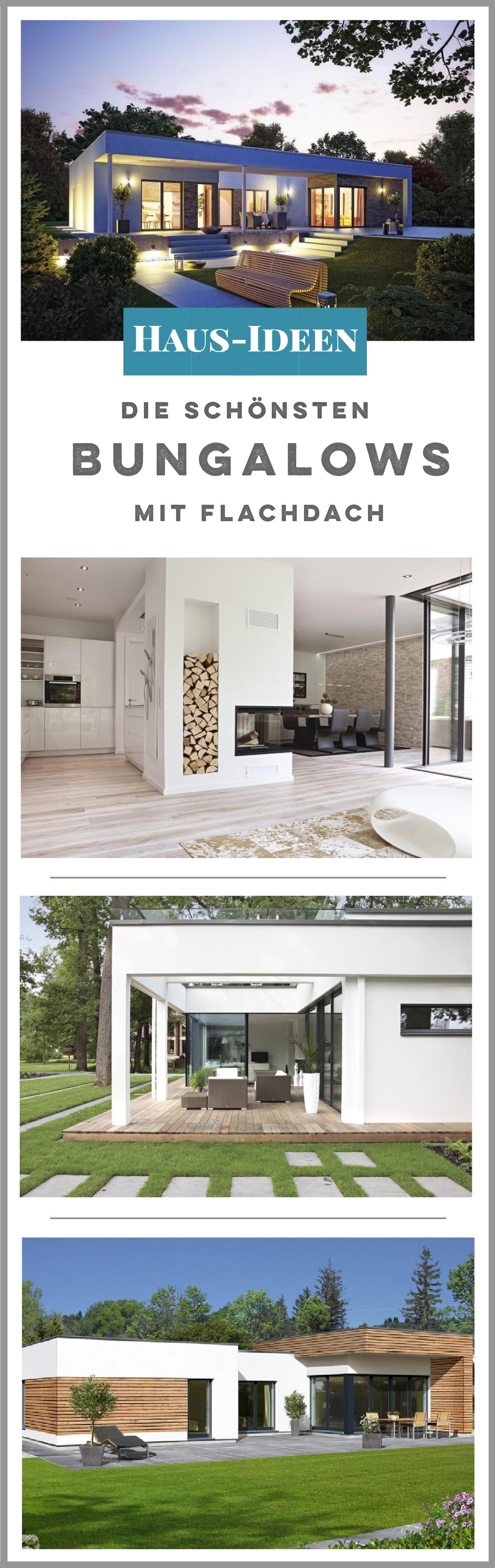 Awesome Bungalow Haus Mit Flachdach Bauen   Die Schönsten Häuser Auf  HausbauDirekt.de Finden
