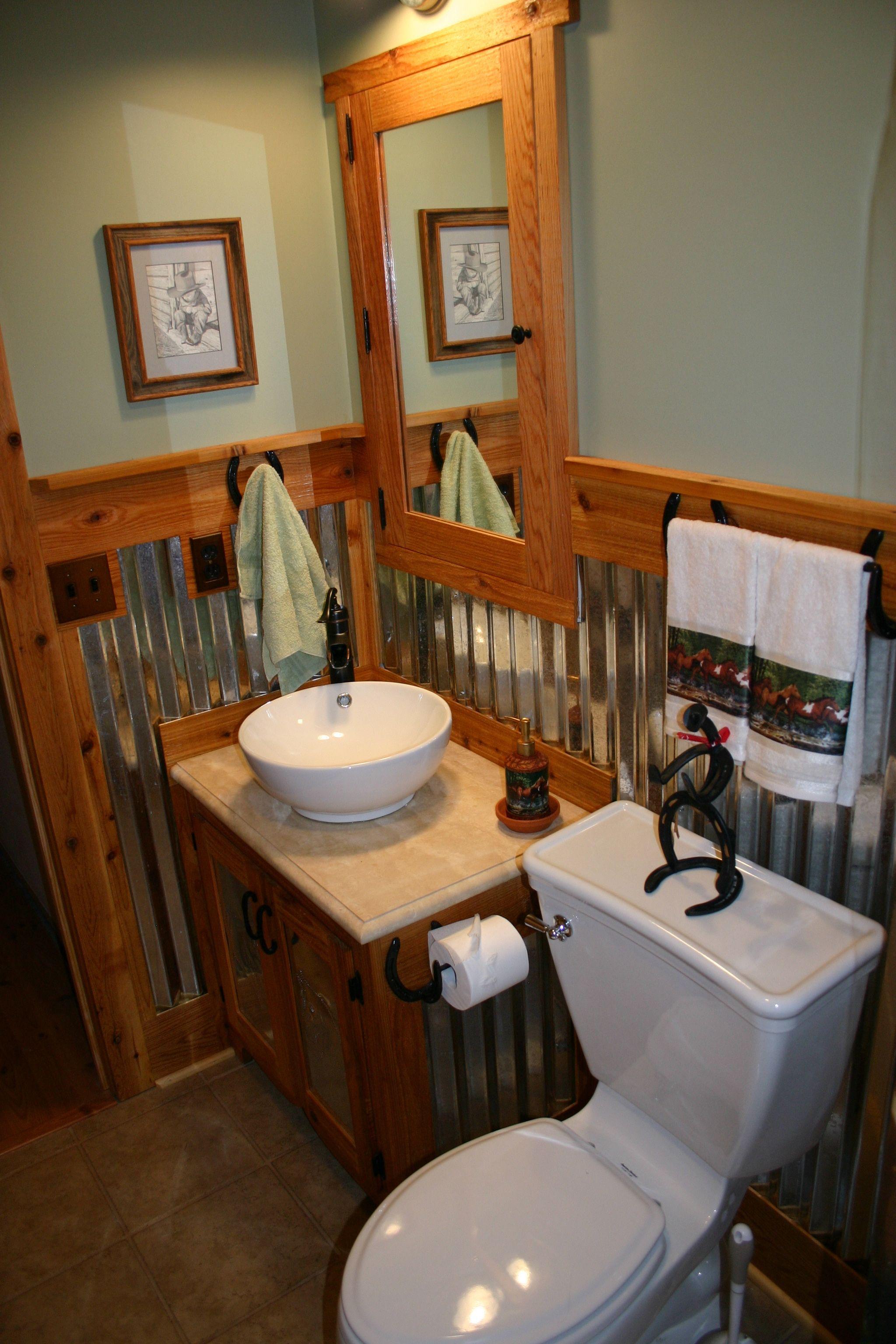 Horse Themed Bathroom