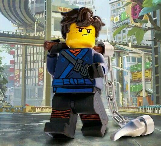 Jay The Lego Ninjago Movie>>> his new design!! He looks so cute!!