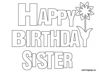 Say Happy Birthday Coloring Pages Bing Images Happy Birthday Coloring Pages Birthday Coloring Pages Love Coloring Pages
