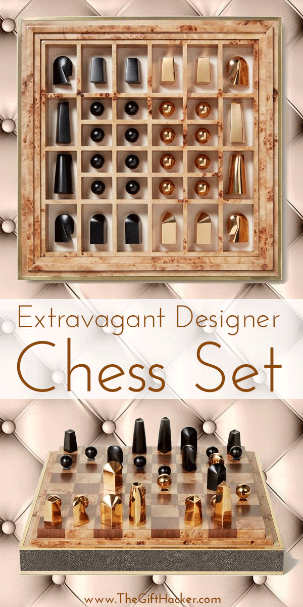 Extravagant Designer Chess Set Luxury Gift For Men & Women
