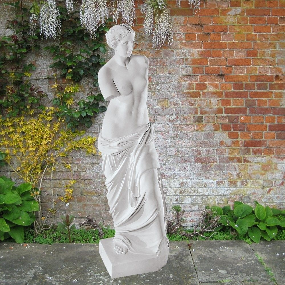 Nice Venus De Milo 86cm Greek Garden Sculpture Large Marble Statue. Buy Now Atu2026