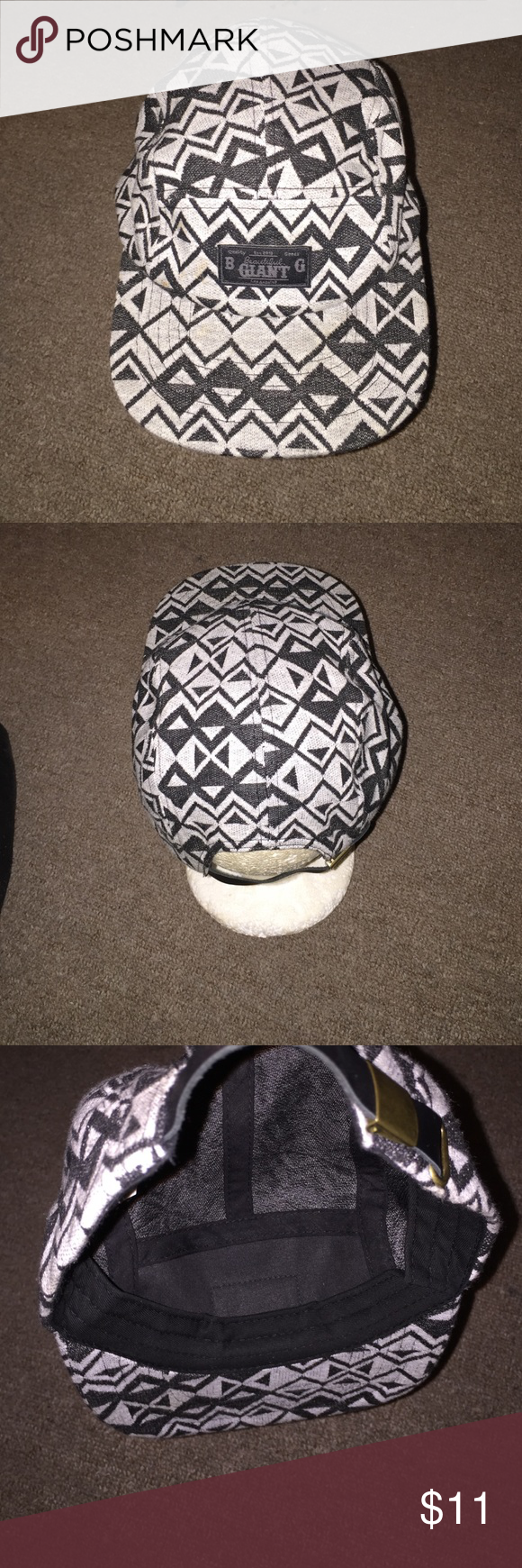 d124d294c2e Men Beautiful Giant Tribal Hat SnapBack The hat is in good condition. Thank  you. Beautiful Giant Accessories Hats