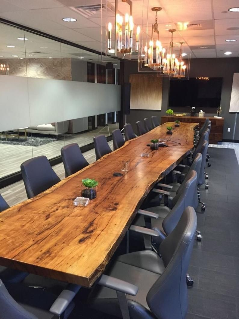 Live Edge Dining Table Reclaimed Single Slab Conference Table Reclaimed Acacia Wood Solid Slab Large Rare Size
