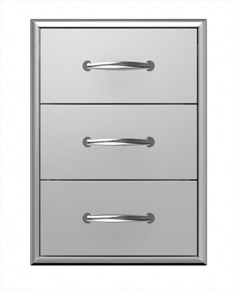 Builddirect Broilchef Stainless Steel Drawers Builddirect Outdoor Kitchen Drawer Unit