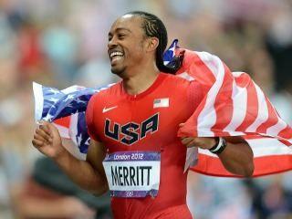 Aries Merritt es wins Gold 110M hurdles