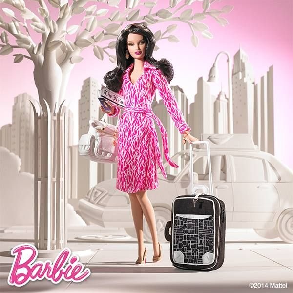 Barbie's body was never designed to be realistic